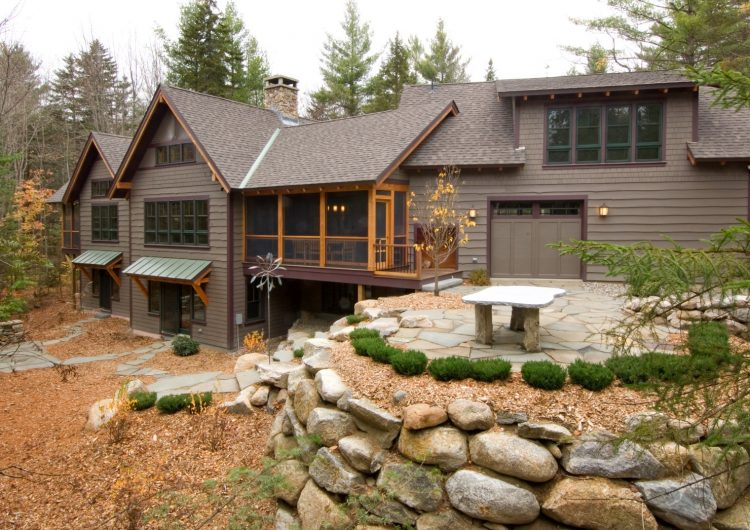 Gorgeous Custom Home, fine woodwork in and out in located in the hills of Springfield NH